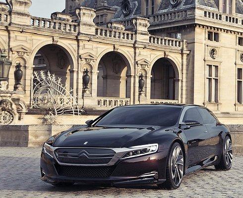 Citroёn покажет новый роскошный седан DSвесной