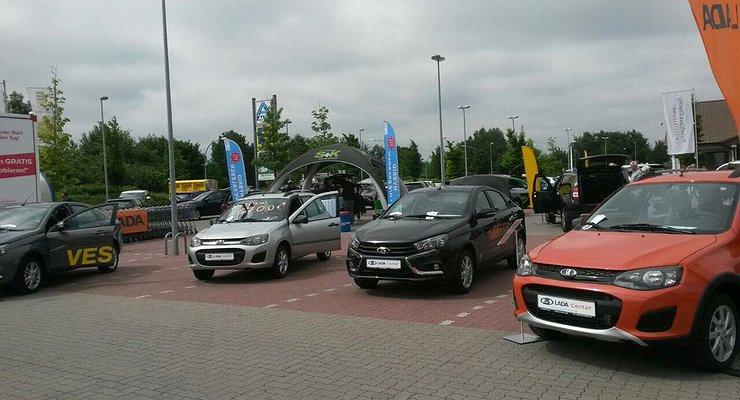 Продажи LADA вЕвропе растут медленнее, чем электромобилей
