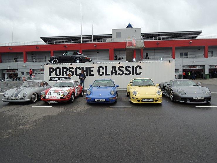 фото с фестиваля porsche на raceway