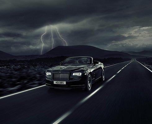 Rolls-Royce готовит кпремьере Dawn «черной» спецсерии Black Badge
