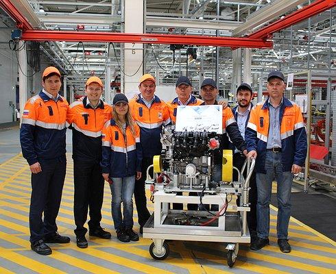 ВРоссии выпустили 30-тысячный мотор Ford