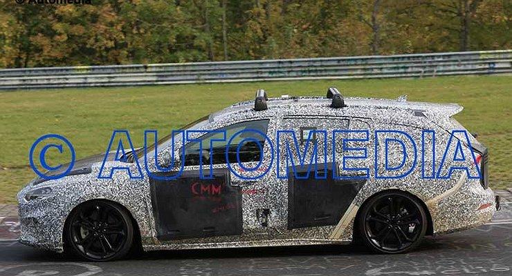Универсал Ford Focus нового поколения выкатили натесты
