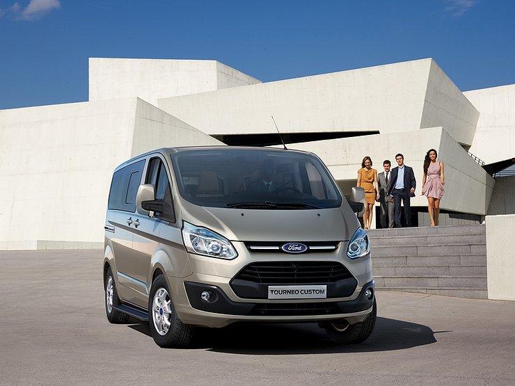 Представители  Форд  в РФ  начали приём заказов наTransit иTourneo Custom