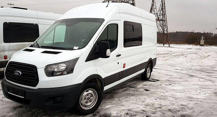 Ford Transit поступил наслужбу вроссийскую таможню