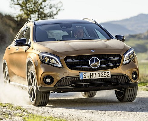 ВДетройте представили обновленный Mercedes GLA
