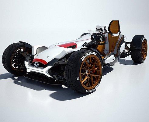 Honda запустит спорткар Project 2&4 всерийное производство