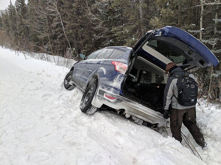 Можно ли ставить зимние шины только на колесах ведущей оси