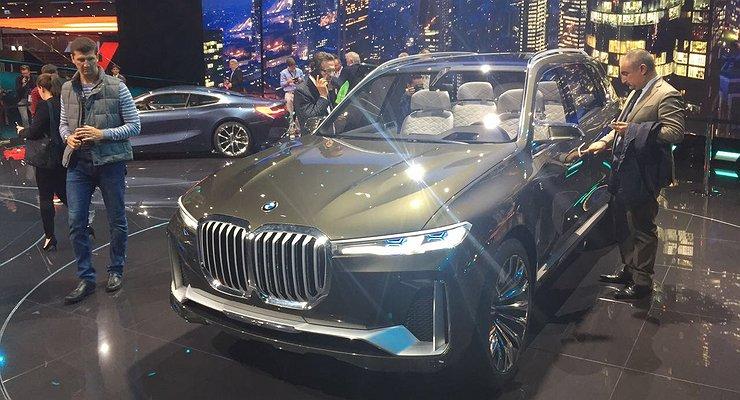 Франкфурт-2017: BMW представила целую россыпь новинок