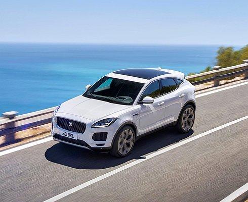 Новый кроссовер Jaguar E-Pace получил российский ценник