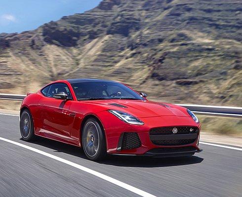 Новая линейка Jaguar F-Type снимает ипоказывает
