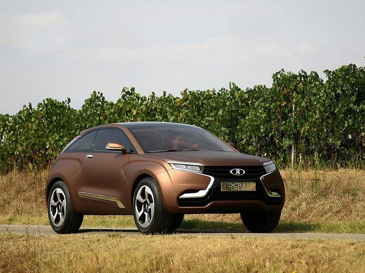 Новый автомобиль лада xray фото