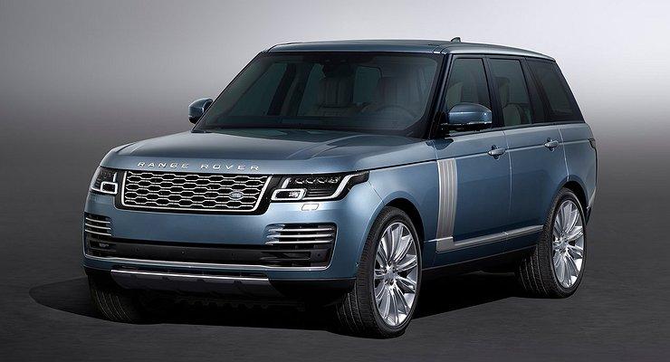 Компания Jaguar Land Rover представила обновленный Range Rover