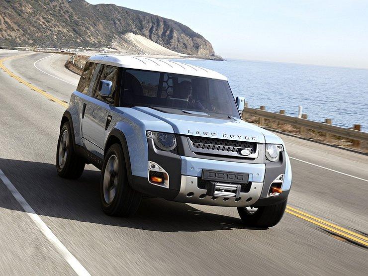 Экстерьер нового Land Rover Defender