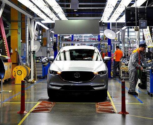 Новый кроссовер Mazda CX-5встал наконвейер