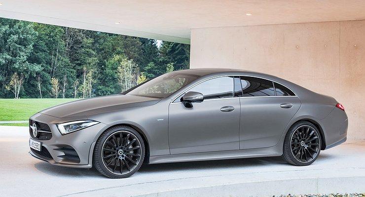 «Заряженный» Mercedes-AMG CLS 63снимают спроизводства