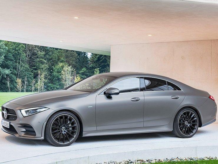 Смотри! Mercedes-Benz CLS 2019 года в 2019 году