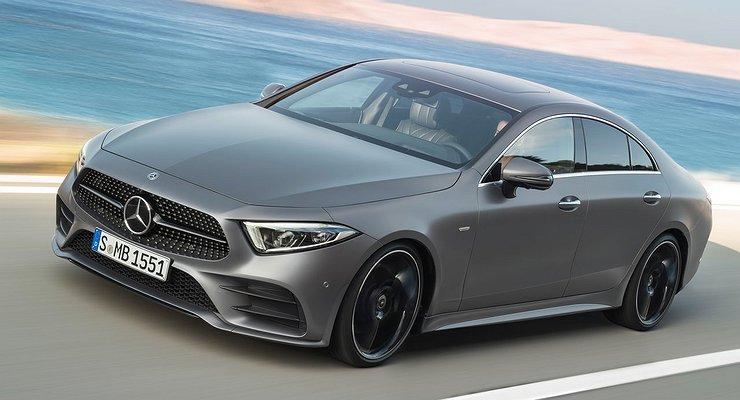 Объявлены российские цены наMercedes-Benz CLS третьего поколения