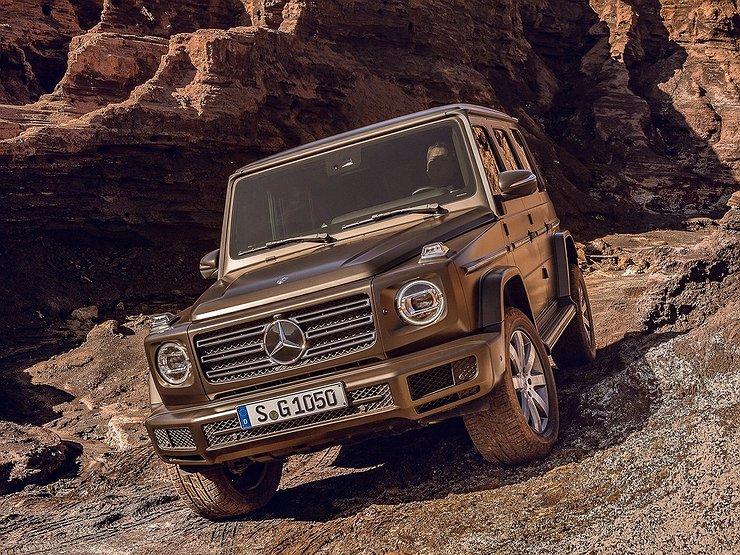 Mercedes benz g for Mercedes benz 555