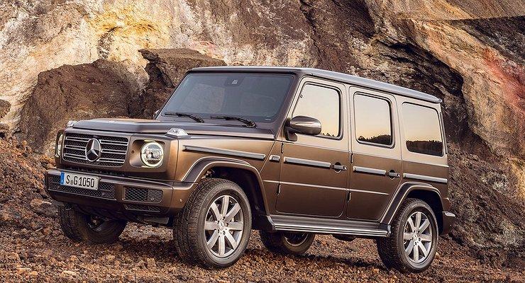 Новый Mercedes-Benz G-класса представлен официально