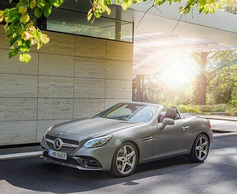 Кабриолет Mercedes-Benz SLC уходит висторию