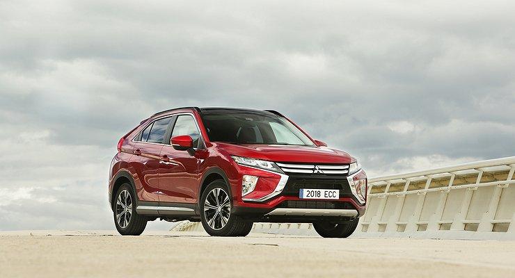 Объявлены российские цены нановый кроссовер Mitsubishi Eclipse Cross