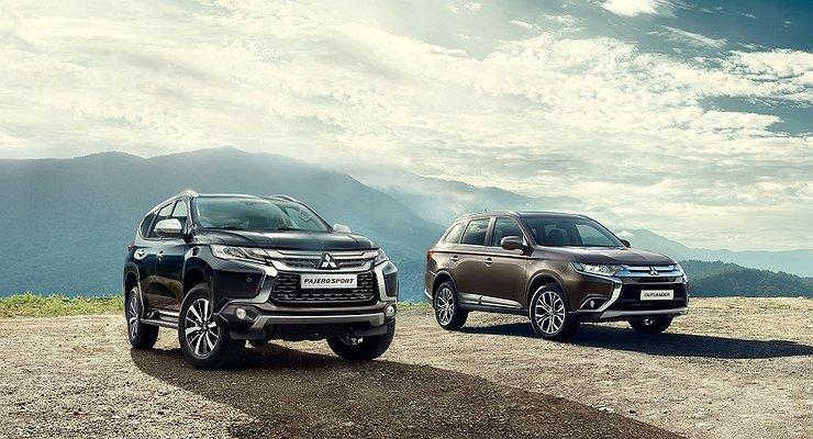 Mitsubishi Outlander остается лидером продаж марки вРоссии