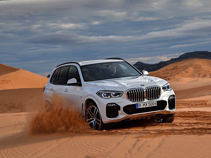 В интернете рассекретили новый BMW X5 изоражения