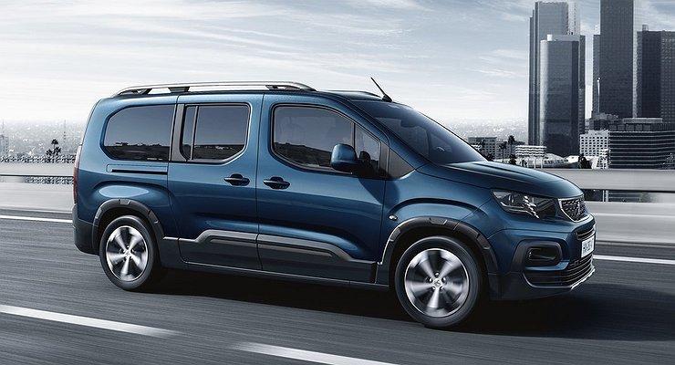 Peugeot покажет наЖеневском автосалоне новый Rifter
