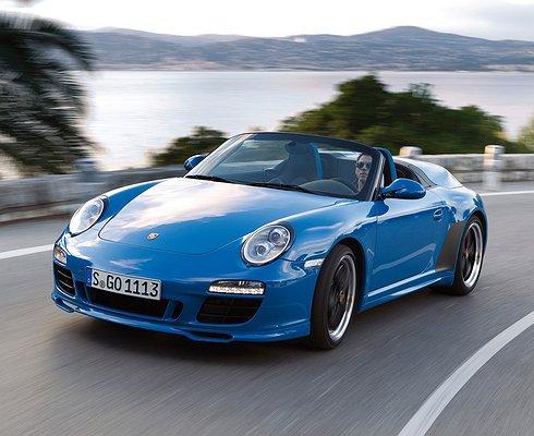 Названа дата премьеры Porsche 911Speedster