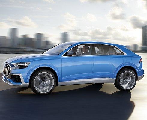 Audi показала вДетройте концепт нового кроссовера Q8
