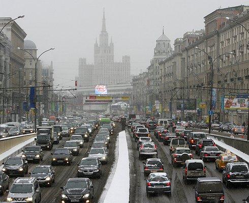 НаМоскву иобласть приходится 15% российского автомобильного парка