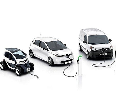 В2017 году Renault представит сразу несколько электрокаров