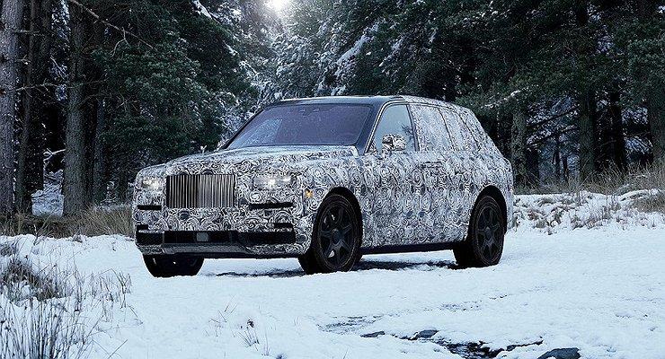 Первый кроссовер Rolls-Royce получит название Cullinan