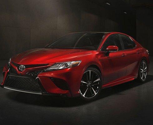 ВДетройте представили новую Toyota Camry