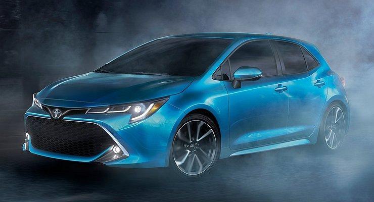Японцы представили Toyota Corolla нового поколения