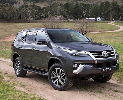 Почему Toyota Fortuner небудет популярен вРоссии