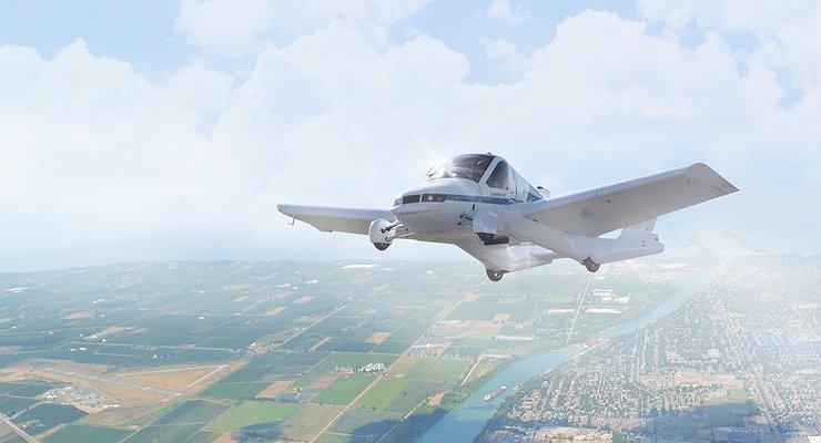 Объявлена дата премьеры летающего автомобиля Geely