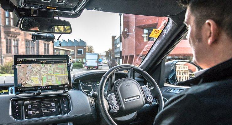 Jaguar Land Rover приступил ктестированию беспилотных автомобилей