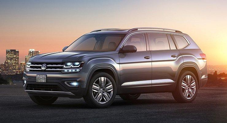 Volkswagen привезет вРоссию три новинки