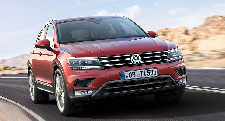 Кроссовер Volkswagen Tiguan стал дешевле