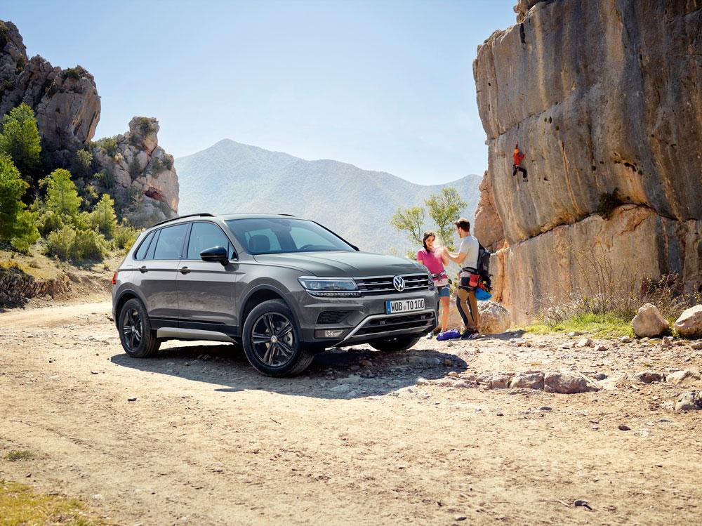 Volkswagen Tiguan получил вРоссии внедорожную модификацию