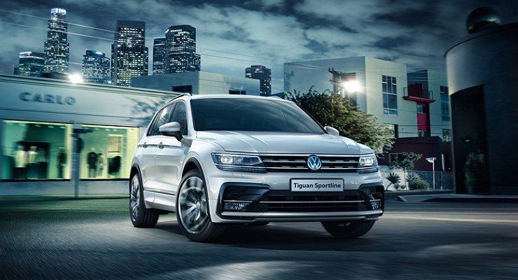 Объявлены российские цены на«спортивный» Volkswagen Tiguan