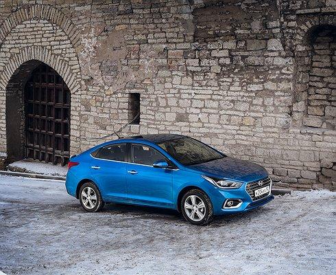Hyundai Solaris подешевел вдвое
