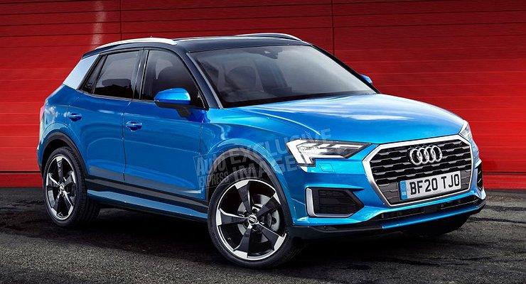 Названы сроки появления нового кроссовера Audi Q1