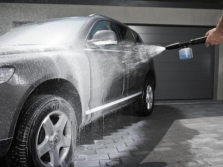 Температура воды при мытье машины