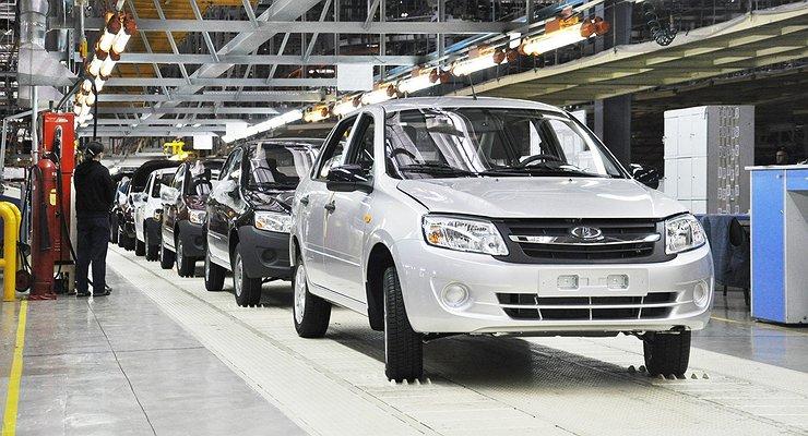 Российские автозаводы наращивают объемы производства