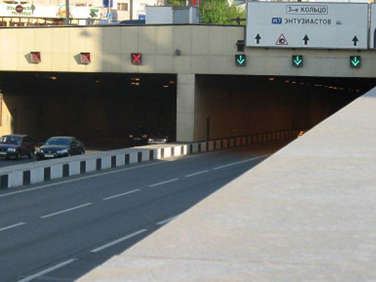 В столице вЛефортовском тоннеле случилось ДТП с 2-мя пострадавшими