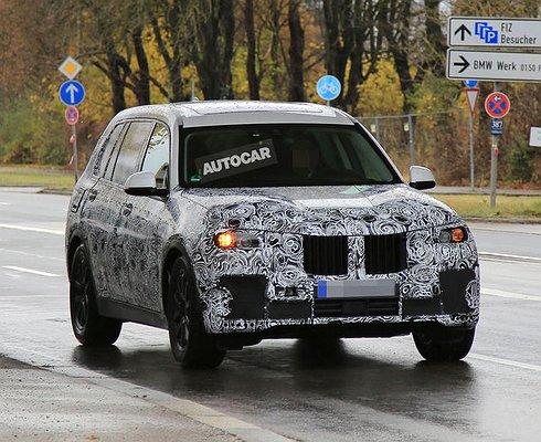 ВРоссию скоро придет новый большой кроссовер BMW