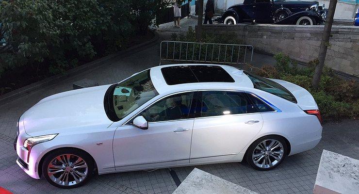 Новый Cadillac CT6 приехал вРоссию