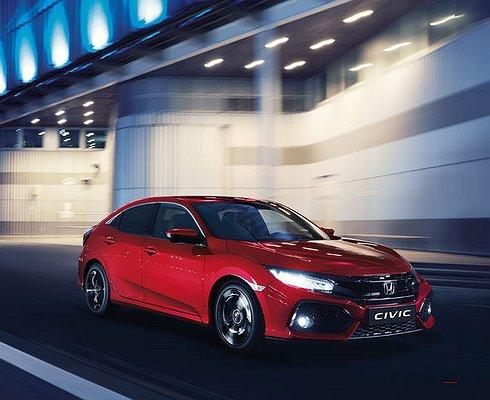 Хетчбэк Honda Civic появится впродаже весной